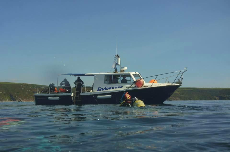 We have a fantastic diving boat
